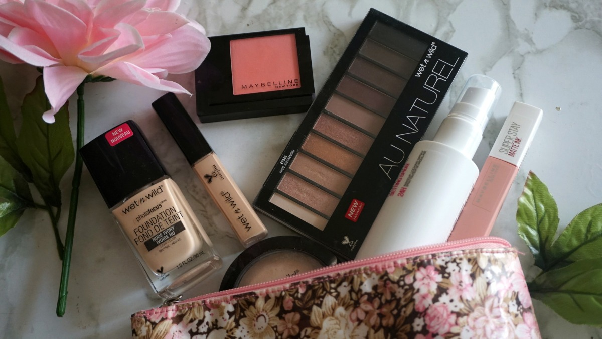 Maybelline and Wet & Wild review